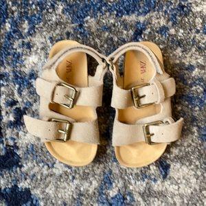 Zara Baby Birkenstock-like Sandals